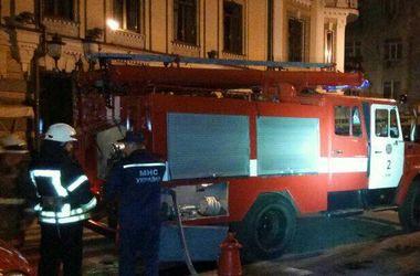 В Киеве киоск сгорел вместе с охранником