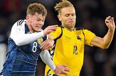 Отбор на ЧМ-2018: Шотландия - Литва - 1:1, обзор матча