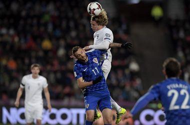 Обзор матча Финляндия - Хорватия - 0:1