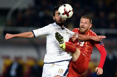 Обзор матча Македония - Италия - 2:3