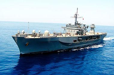 В Черное море вошел флагманский корабль 6-го флота ВМС США