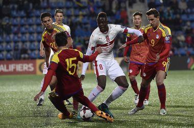 Обзор матча Андорра - Швейцария - 1:2