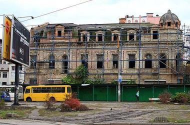 В Киеве у фирмы хотят отобрать полуразрушенный исторический дом