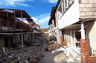 Город-призрак: немцы показали руины Широкино во впечатляющем видео