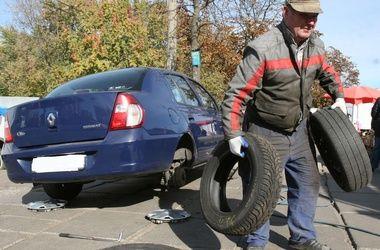 """""""Укравтодор"""" призывает водителей """"переобуть"""" машины"""