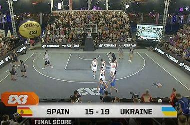 Сборная Украины вышла в финал чемпионата мира по баскетболу 3 на 3