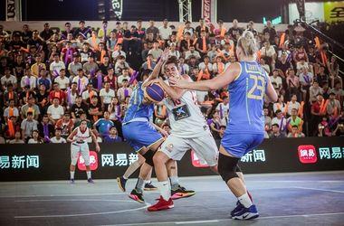 Онлайн финального матча чемпионата мира по баскетболу 3 на 3 Украина - Чехия