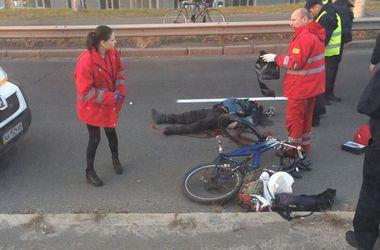На Московском проспекте Daewoo Lanos насмерть  сбил велосипедиста (18+)