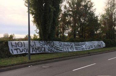 "40 болельщиков напали на игрока ""Интера"" Мауро Икарди"