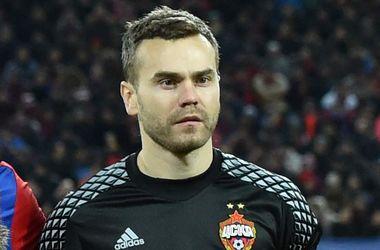 Вратарь ЦСКА Акинфеев увеличил антирекорд, пропустив в 40-м матче подряд в Лиге чемпионов