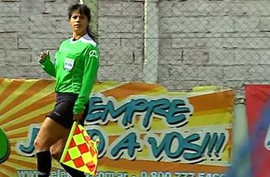 Аргентинский футболист после матча ударил женщину-арбитра