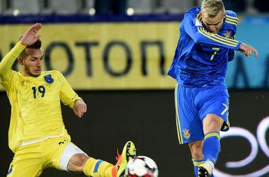 Сборная Украины - на 29-м месте в рейтинге ФИФА
