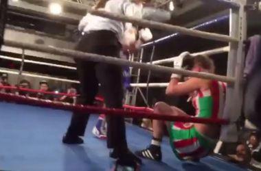 Нокаут на 44-й секунде чемпионского боя в женском боксе