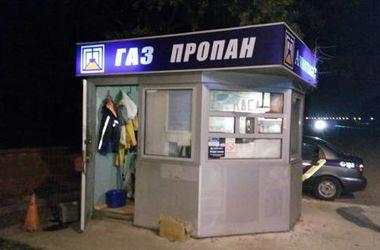 Под Киевом поймали разбойников, напавших на заправку