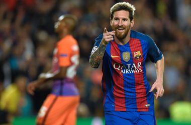 Лионель Месси признан лучшим игроком недели в Лиге чемпионов