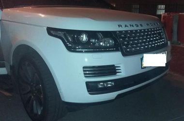 Под Харьковом нашли разыскиваемый Интерполом Range Rover
