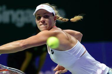 Ангелик Кербер с победы стартовала на Итоговом чемпионате WTA