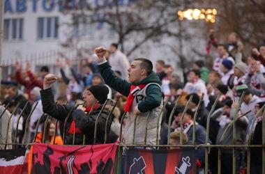 """Вице-президент ФФУ пообещал наказать """"Волынь"""" за неонацистские выкрики фанатов"""