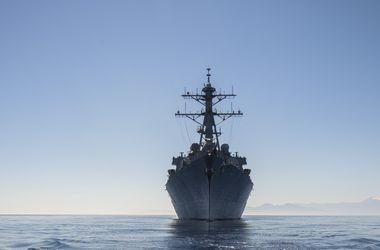 Миноносец США вошел в акваторию Черного моря