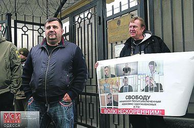 Одесситы вышли на митинг в поддержку Сенцова