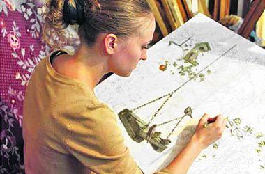 Drawings Ukrainian students won knigomania Europe