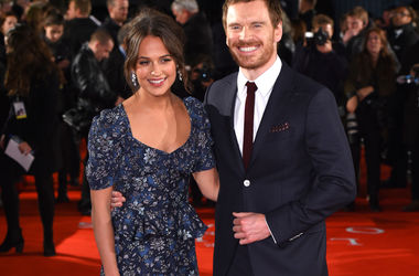 Michael Fassbender commented on the affair with Alicia Vikander