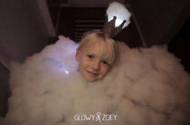 Американец нарядил дочь грозовым облаком на Хеллоуин