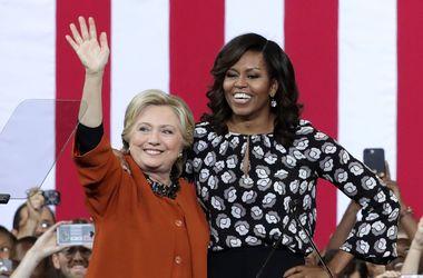 Поддержите мою девочку: Мишель Обама призвала американцев голосовать за  Клинтон