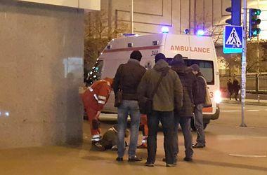 В Киеве на улице найден мужчина без сознания
