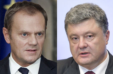 """Туск рассказал Порошенко, от чего теперь зависит """"безвиз"""" с ЕС для украинцев"""