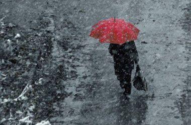 Сегодня Украину накроют дожди со снегом
