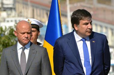Декларации чиновников Одессы: у Саакашвили - земля в Грузии, а у Труханова - квартира и подаренные часы