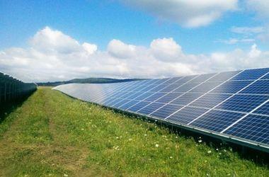 На Прикарпатье построили солнечную электростанцию