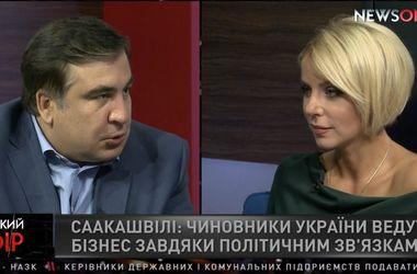Саакашвили: украинские политики прикидываются, что заботятся о своем народе