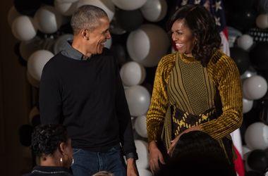 Барак и Мишель Обама отпраздновали свой последний Хеллоуин в Белом доме
