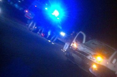 В Киеве на Окружной Fiat насмерть сбил пешехода - нарушителя