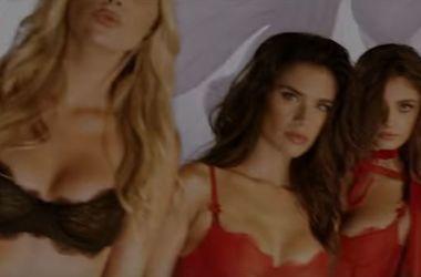 Victoria's Secret устроил вечеринку с полуголыми моделями