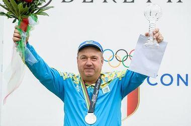 Стрелок Николай Мильчев признан лучшим спортсменом октября в Украине