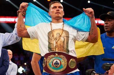 Александр Усик проведет бой 17 декабря в США