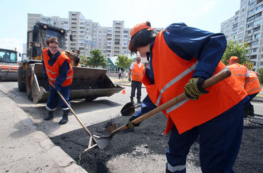 В Киеве реконструируют развязку на проспекте Палладина