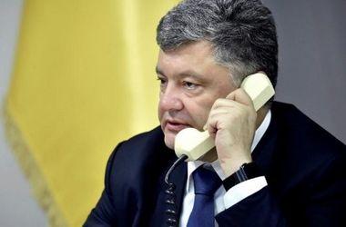 Порошенко провел телефонный разговор с президентом Кыргызстана