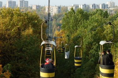 Харьковская канатная дорога меняет график работы