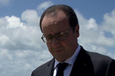 Франсуа Олланда признали самым непопулярным президентом Франции - СМИ