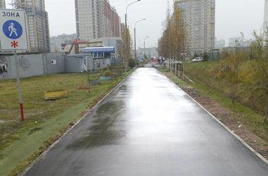В России дорогу отремонтировали при помощи Фотошопа