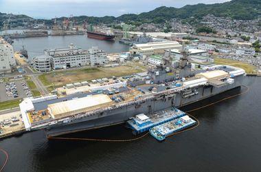 В Японии эвакуировали военную базу США