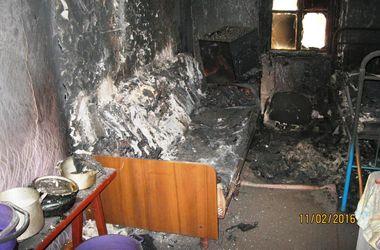 Под Киевом в пожаре погибла одинокая пенсионерка