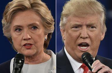 Трамп опять сократил отставание от Клинтон - опрос CBS
