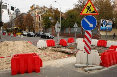 В Киеве ограничат движение на двух улицах