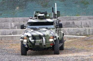 В Украине создали беспилотный броневик