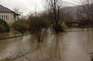 На Закарпатье подтоплены десятки домов: есть пострадавший